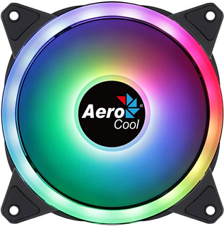 Cooler Fan Aerocool Duo 12 Argb Dual Ring Addresable Rgb