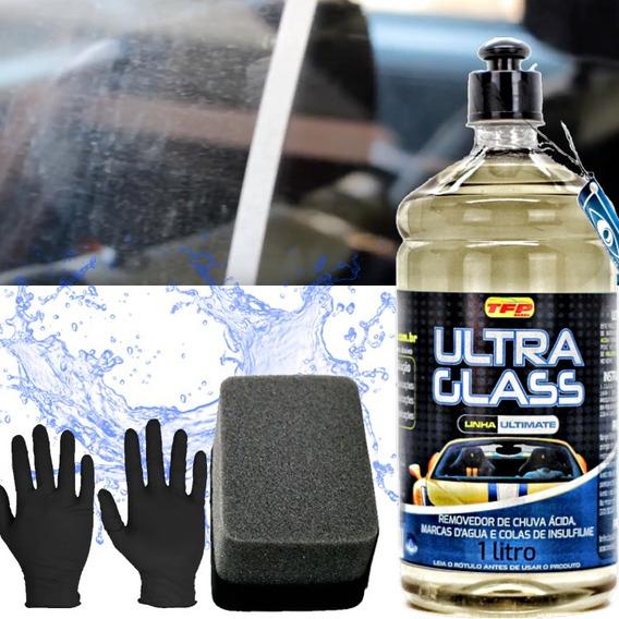 Removedor De Chuva Ácida Vidros Cristal Ultra Flex Glass Tfp