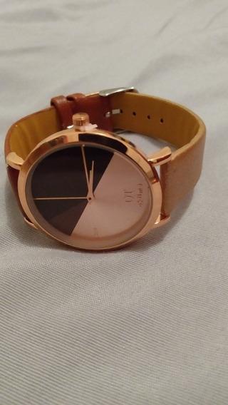 Relógio De Pulso Ot Oktime De Luxo Homem E Mulher.