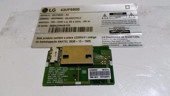 Módulo Modulo Wifi Wi Fi Wireless Tv Lg 43uf6800