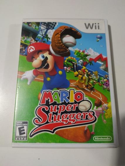 Jogo Mario Super Sluggers Original Para Nintendo Wii.