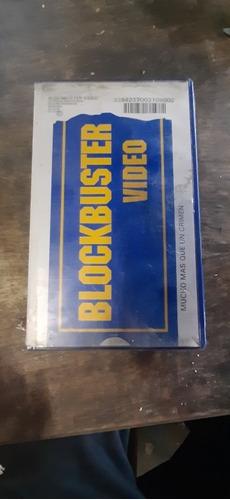 Antigua Caja Blockbuster Vhs Con Vhs De Regalo