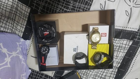 Relógios (5) Varias Marcas.