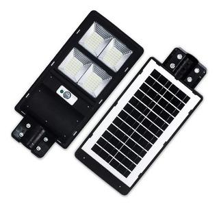 Lampara Alumbrado Publico Panel Solar 60w Control Remoto