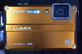 Câmera Fotográfica Panasonic Lumix Ts2 - Orange