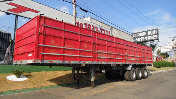 Semi-reboque Graneleira 2000 C Pneus,carreta Bau,carga Seca