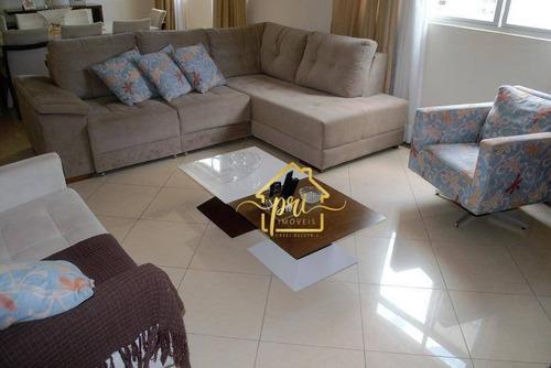 Apartamento À Venda, 155 M² Por R$ 619.000,00 - Embaré - Santos/sp - Ap0201