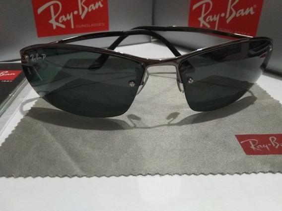 Óculos De Sol Demolidor Grafite Lente Verde Polarizado
