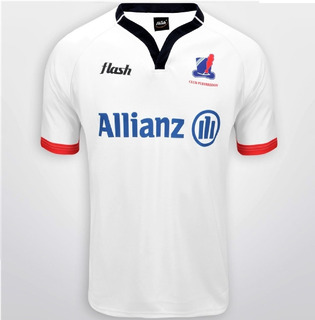 Camiseta Rugby Pueyrredon Flash Blanca Original