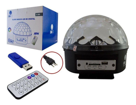 Led Magic Ball Luatek 1w Usb Lk-306b