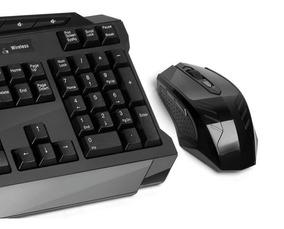 Teclado E Mouse Multilaser Gamer Sem Fio 2.4 Usb - Tc166