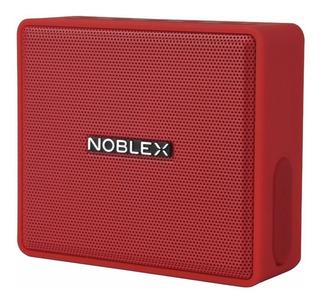 Parlante Noblex Cuadrado Bt Rojo Psb100r - Aj Hogar