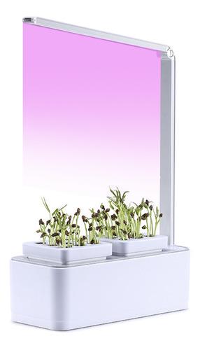 Hidroponía Sistema De Crecimiento Led Crecer Luz Interior Hi