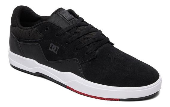 Zapatillas Dc Shoes Modelo Barksdale Negro Blanco!!!
