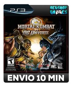 Mortal Kombat Vs. Dc Universe - Psn Ps3 - Pronta Entrega