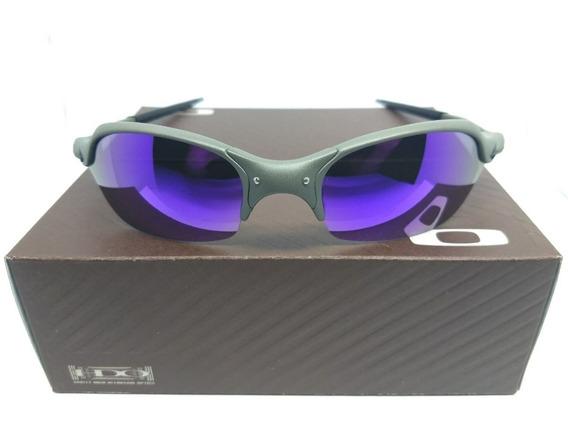 Oculos Oakley Romeo 2 X Metal Lente Roxa Violet Juliet 24k