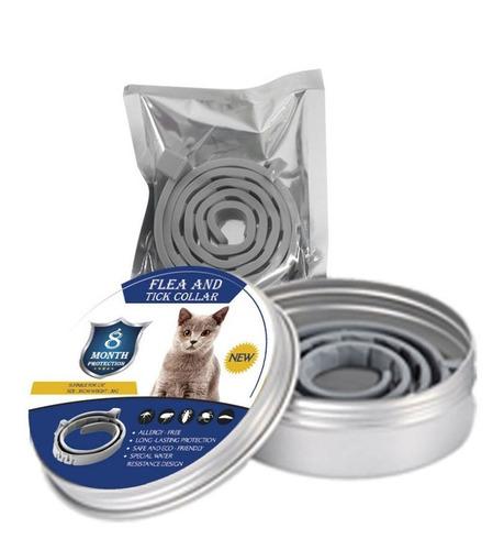 Coleira Anti-pulgas, Carrapatos E Mosquitos Para Gatos(38cm)