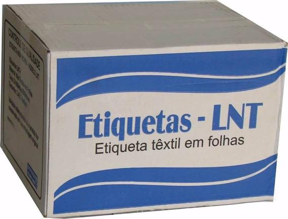 Etiqueta De Composição (lnt-1: 25x40mm) Cx C/ 500 Folhas