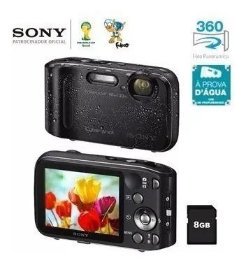 Câmera E Filmadora A Prova D´agua E Antichoque Sony Dsc Tf1