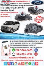 Bomba De Agua Automotriz Ford E-350,f-350 7.3,6.9 Guatemala