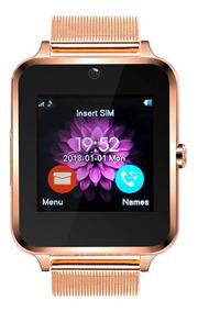 Relogio Smart Watch Z60 Android Original Dourado