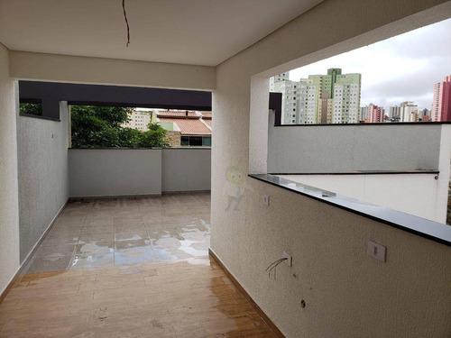 Imagem 1 de 18 de Cobertura À Venda, 86 M² Por R$ 415.000,00 - Vila Floresta - Santo André/sp - Co0424