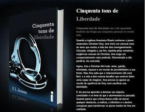Livro 50 Tons De Liberdade