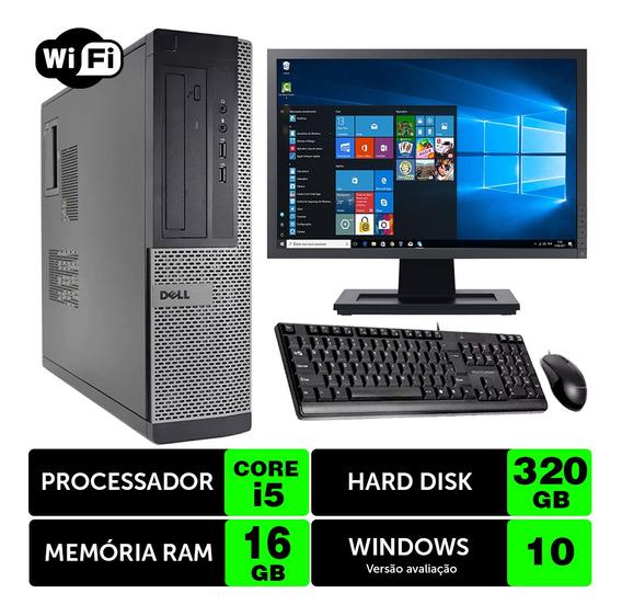 Computador Usado Dell Optiplex Int I5 2g 16gb 320gb Mon17w