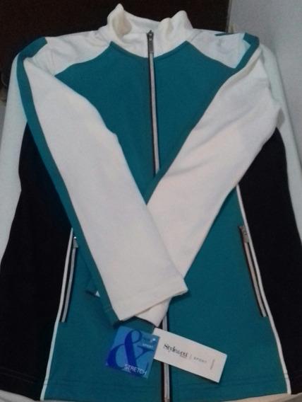 Style & Co Sudadera Sport Mujer, Talla S