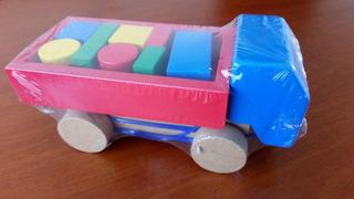 Juguete Didáctico Pioneros - Camión Bloques De Construcción