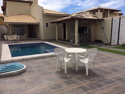 Casa Residencial Em Lauro De Freitas - Ba, Miragem - Ca01315