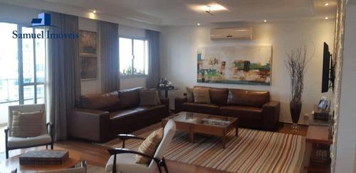 Imagem 1 de 22 de Apartamento Com 4 Dormitórios À Venda, 240 M² Por R$ 3.200.000,00 - Planalto Paulista - São Paulo/sp - Ap4181