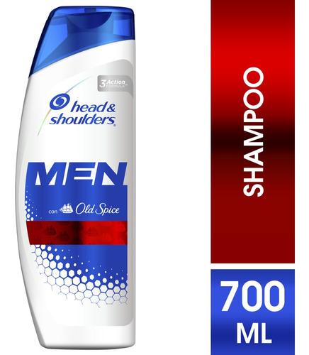 Imagen 1 de 9 de Shampooo Hombre Head Shoulders Old Spice 700 Ml
