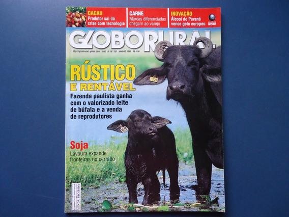Globo Rural 207 Cacau Búfalos Fubá Carne Novilha Jardinagem