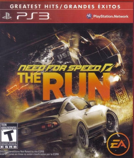 Need For Speed The Run Ps3 Nuevo Original Fisico Sellado
