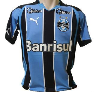 Camisa Grêmio Listrada Puma #7 Banrisul Tramontina M