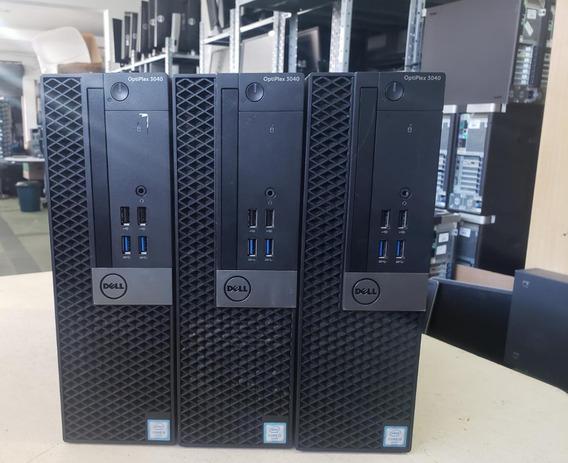 Computadores Dell 3040 Sff Core I3 6º Geração Windows 10 Pro