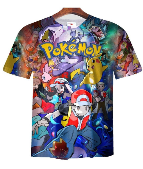 Remera Pokemon Ranwey As0005