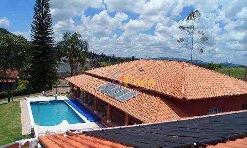Chácara Residencial À Venda, Condomínio Capela Do Barreiro, Itatiba - Sp. - Ch0144