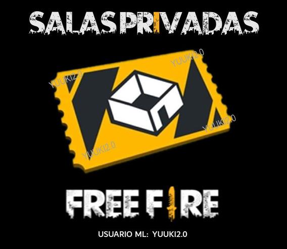 Salas Free Fire Personalizadas Privadas