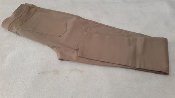 Pantalon Uxie Color Cemento Claro Talle L -marca Brandel-