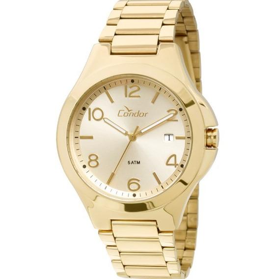 Relógio Condor Feminino Dourado Co2115sw/4x