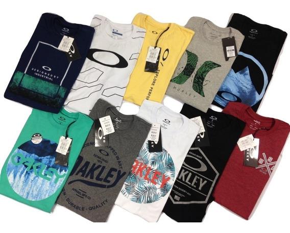 Kit 20 Camisetas Oakley Mcd Lost Ands Surf Skate Avista
