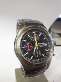 Reloj Orient Cronografo Exelente Pila Nueva