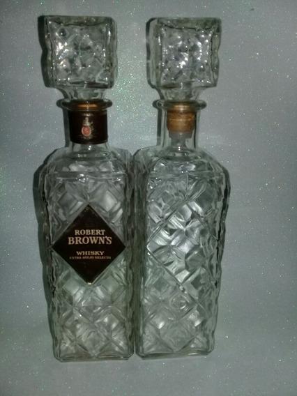 Botellas De Whisky Robert Brown