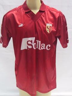 Antiga Camisa De Futebol Do Metz Da França - Marca Puma - Tu