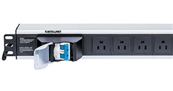 Intellinet Pdu Para Rack 1.5u 15a 125v 6 Contactos 71394 /vc