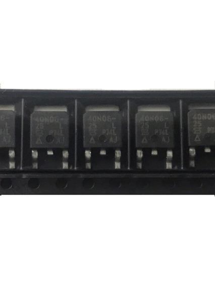 Kit 3x Mosfet Sud 40n06-25l 40n06 25 L Original Novo