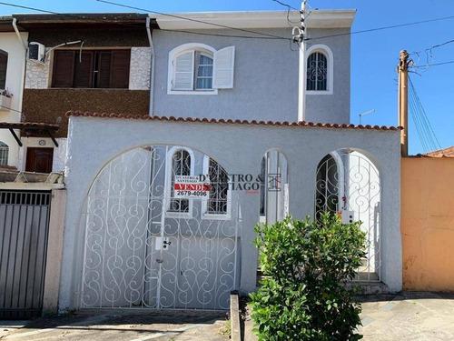 Sobrado À Venda, 200 M² Por R$ 750.000,00 - Vila Bertioga - São Paulo/sp - So0200