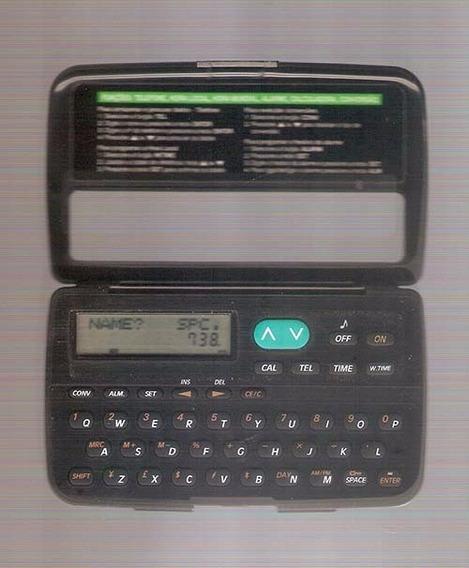Calculadora Agenda Dismac Data Bank Plus 65 Perfeita.